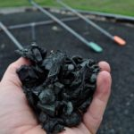 recyceled rubber playground mulch