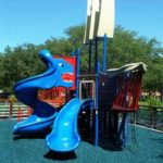 safe fall rubber playground mulch 3