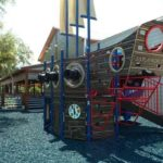 safe fall rubber playground mulch 4